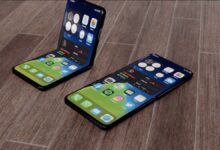 Photo of Stunning iPhone 12 Flip video reveals the foldable phone of the future